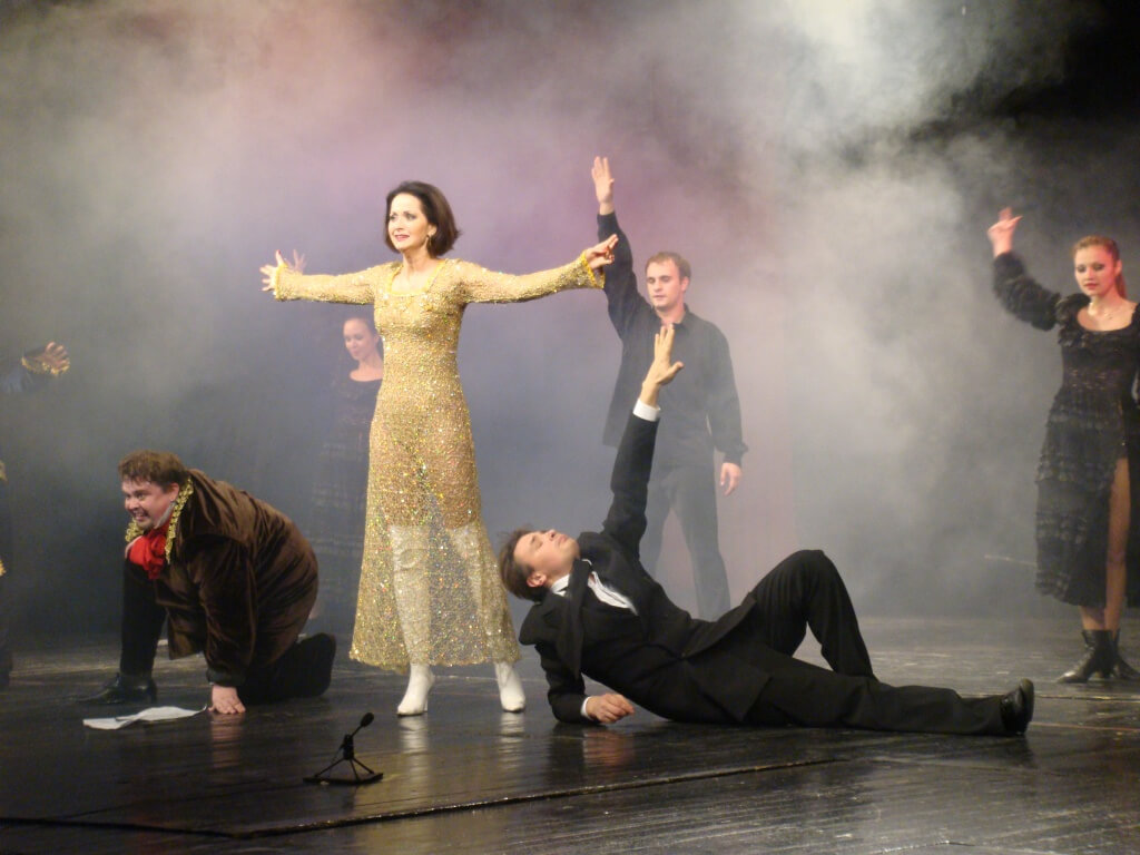 Симфонический спектакль Мастер и Маргарита в Симферополе